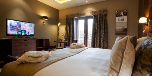 See inside the Lake View Room at the Mere